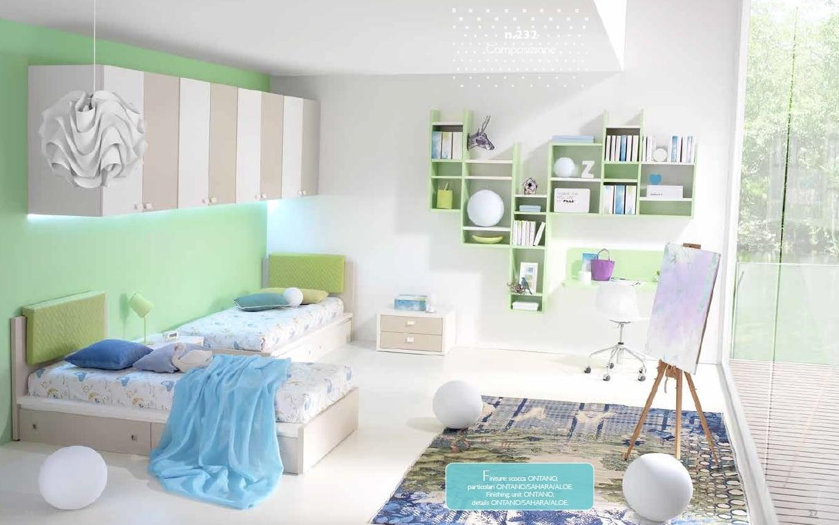 Valenti contract arredamento casa camerette con letti for Man arredamenti roma