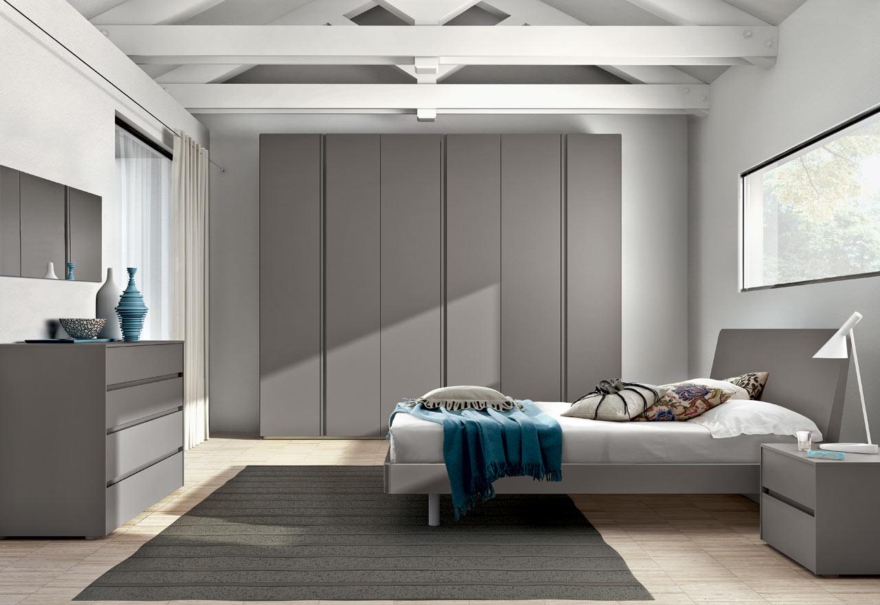 Beautiful camera da letto laccata bianca contemporary - Camere da letto romantiche ...